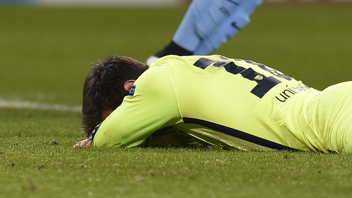 Messi Penalty Miss Against Manchester City
