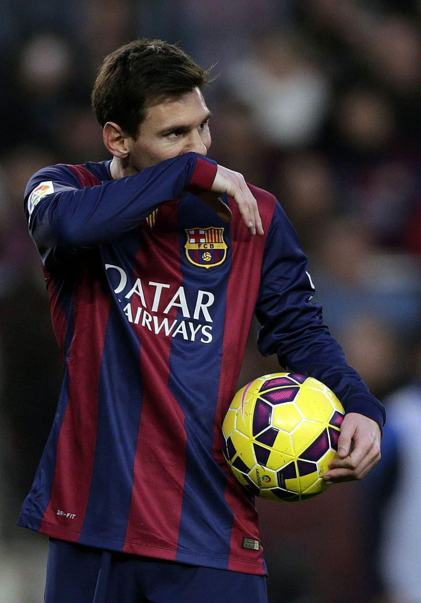 Messi With The Match Ball Against Levante