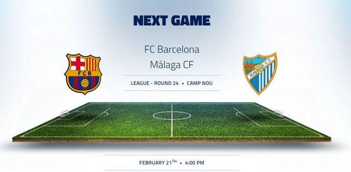 Barcelona - Malaga Match Preview