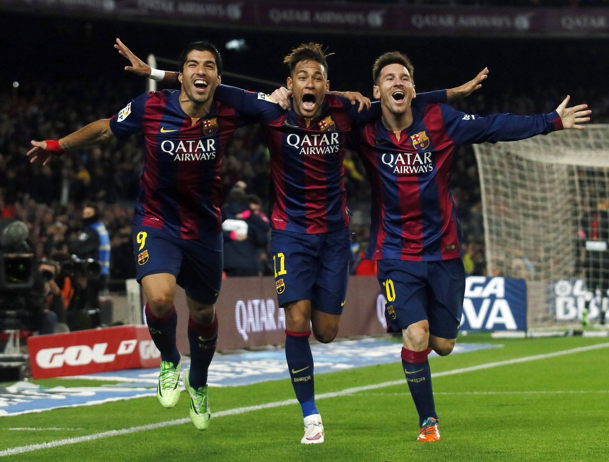 Messi, Suarez And Neymar - MSN Barca