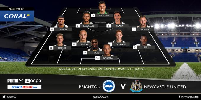 Brighton - Newcastle United 1:2 C5xfGgmWcAAxcjW