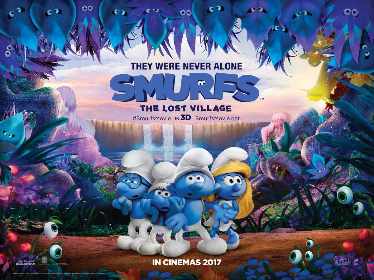 Preview Film Smurfs The Lost Village 2017 New Kid On The Blog