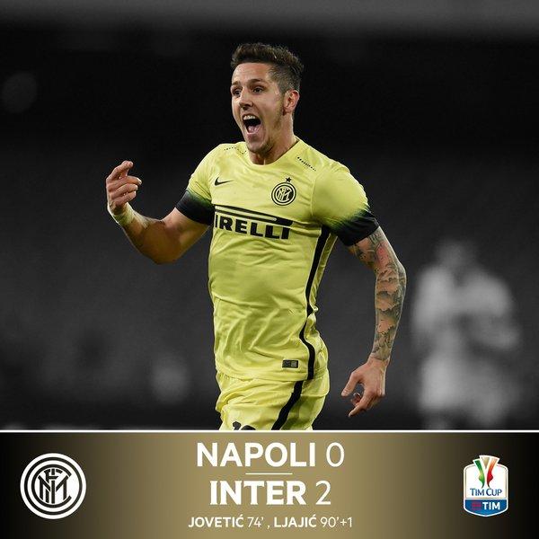 Inter Milan Lolos ke semifinal Setelah mengalahkan NAPOLI 2-0