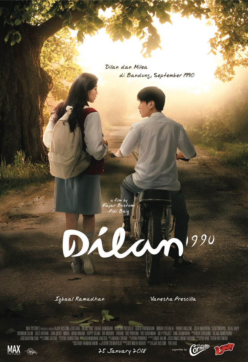 Preview Film Dilan 1990 2018 Edwin Dianto New Kid On The Blog